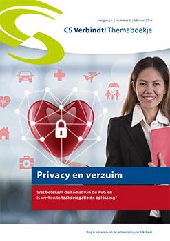 CS Verbindt! Themaboekje Nummer 2 – Privacy en verzuim